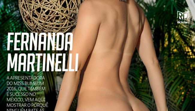 Revista Sexy Julho 2017 :: Fernanda Martinelli nua