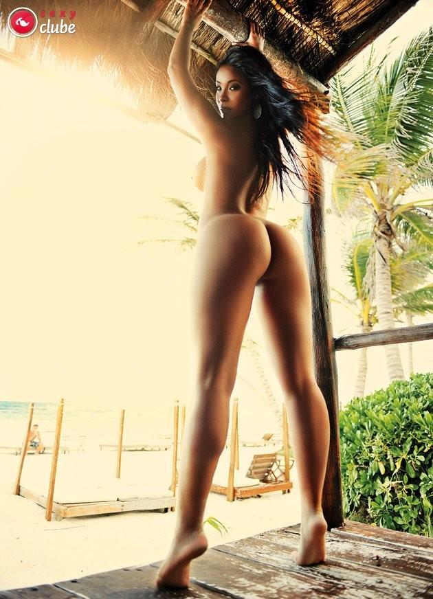 Carol Nakamura nua pelada na revista Sexy Clube Edição de Aniversário