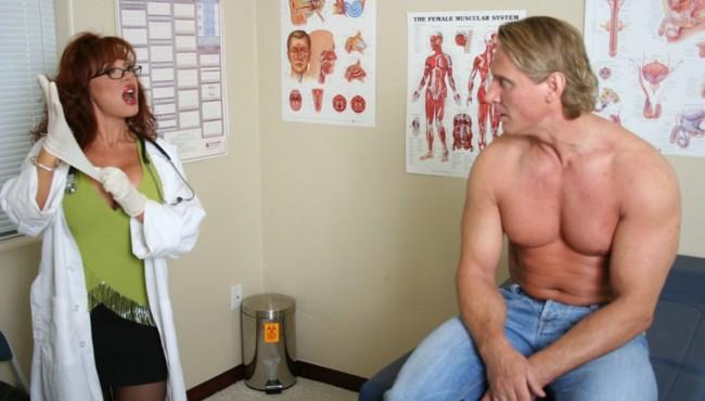 Médicas gostosas dando o cu para paciente bem dotado
