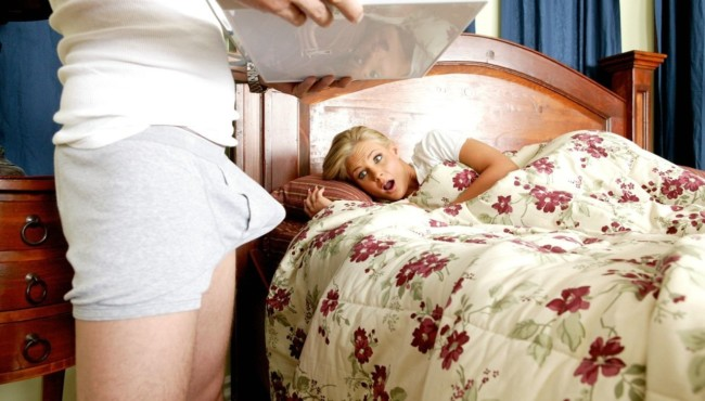 Mordomo fodendo loira milf gostosa depois que o marido dela viajou